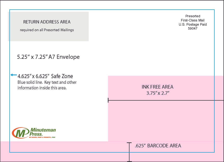 5.25x7.25 Envelope