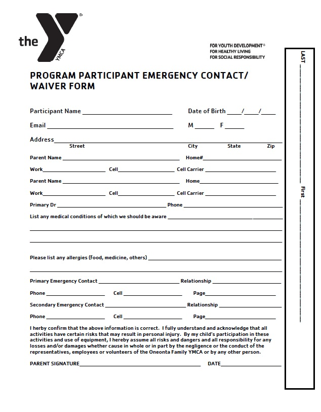 Emergency Waiver
