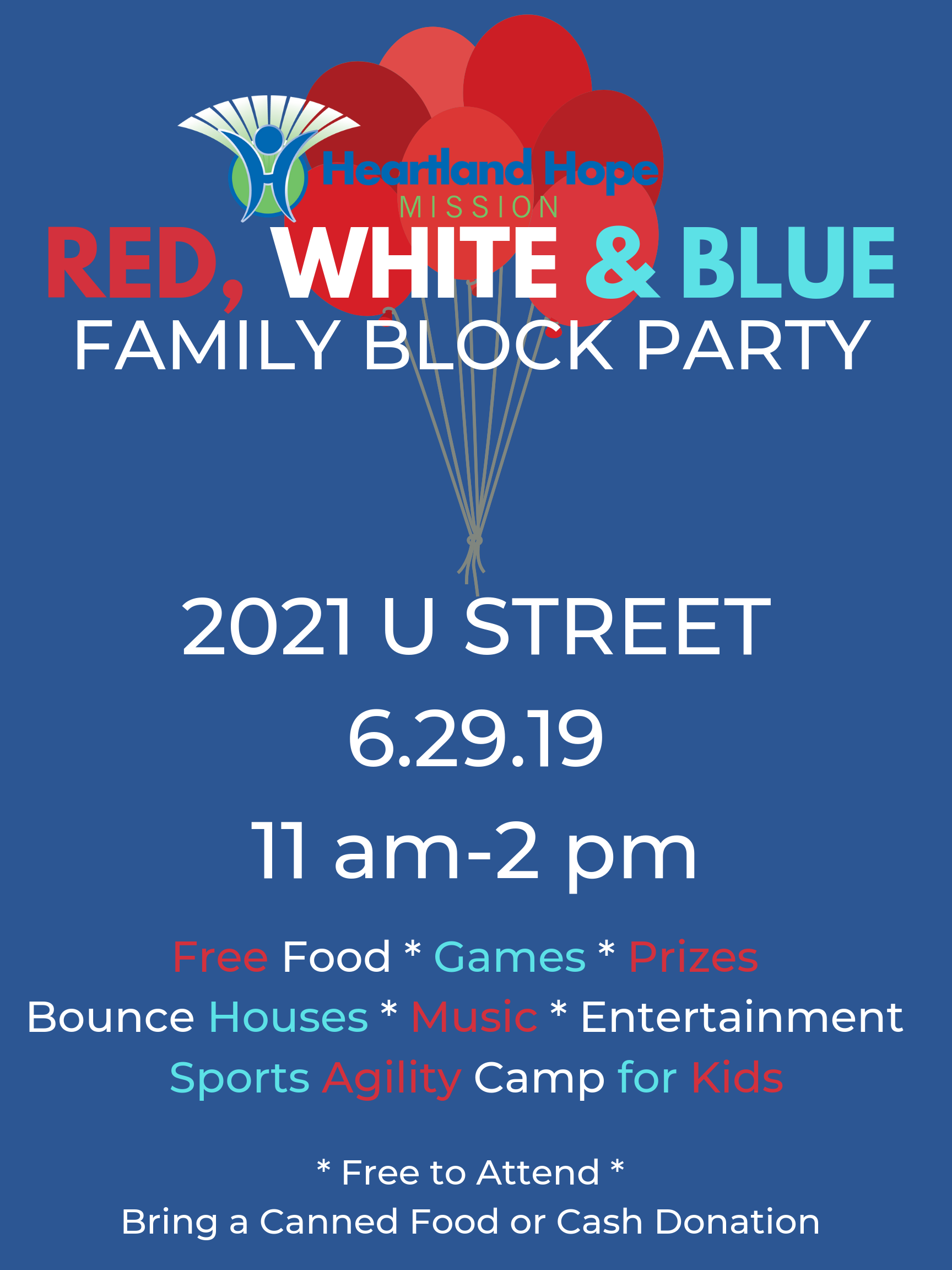 Red, White and Blue Block Party