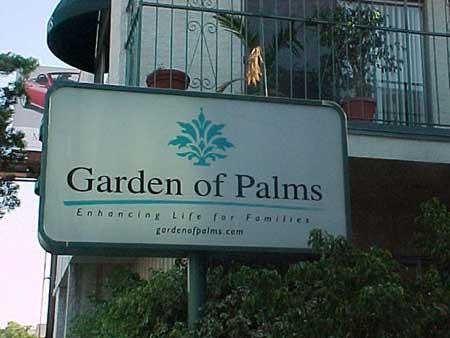LIGHTBOX - GARDEN OF PALMS