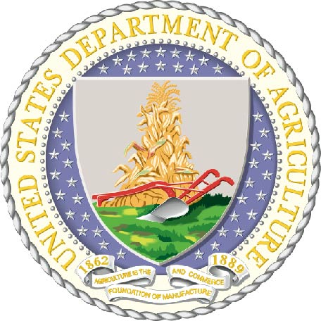 U30210 - Department of Agriculture Seal Carved 3-D Wall Plaque