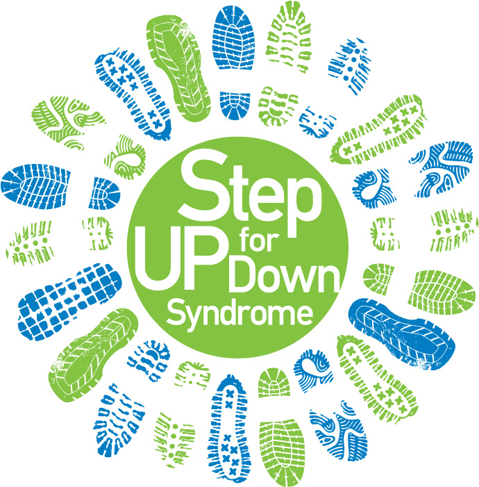 Image result for step up for down syndrome logo