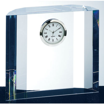 TM Crystal Fantasy Block Clock