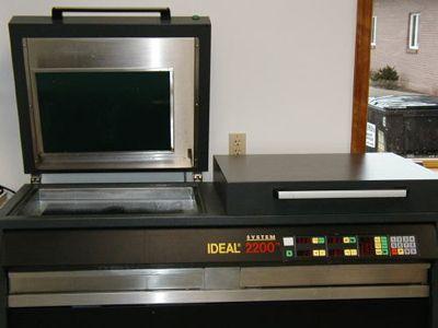 IDEAL 2200 Rubber Stamp Machine