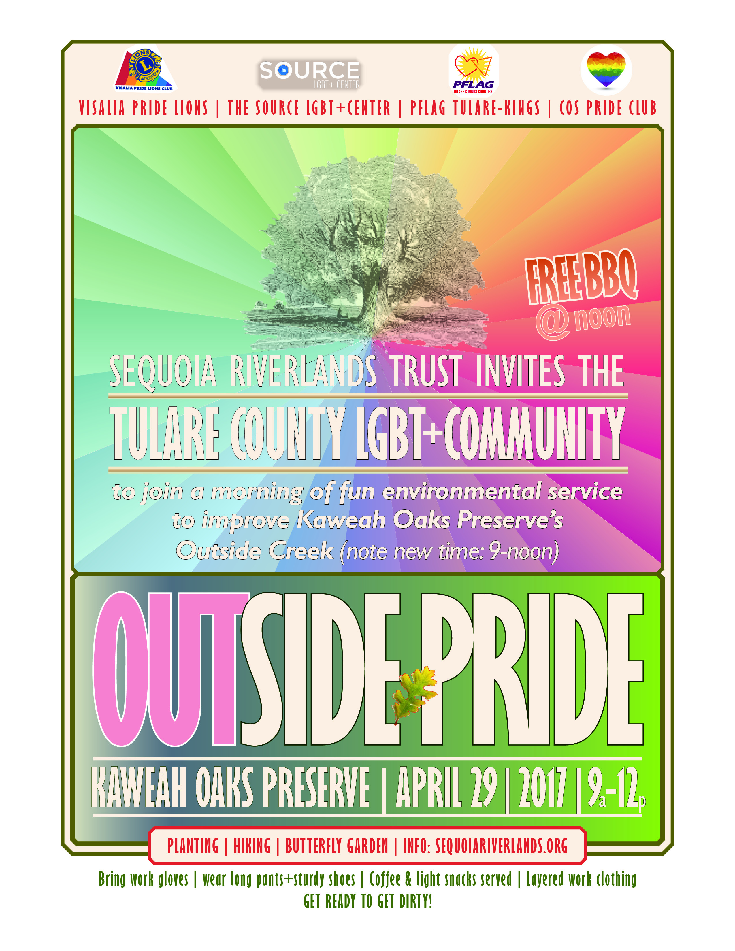 Outside Pride - LGBT Day of Service