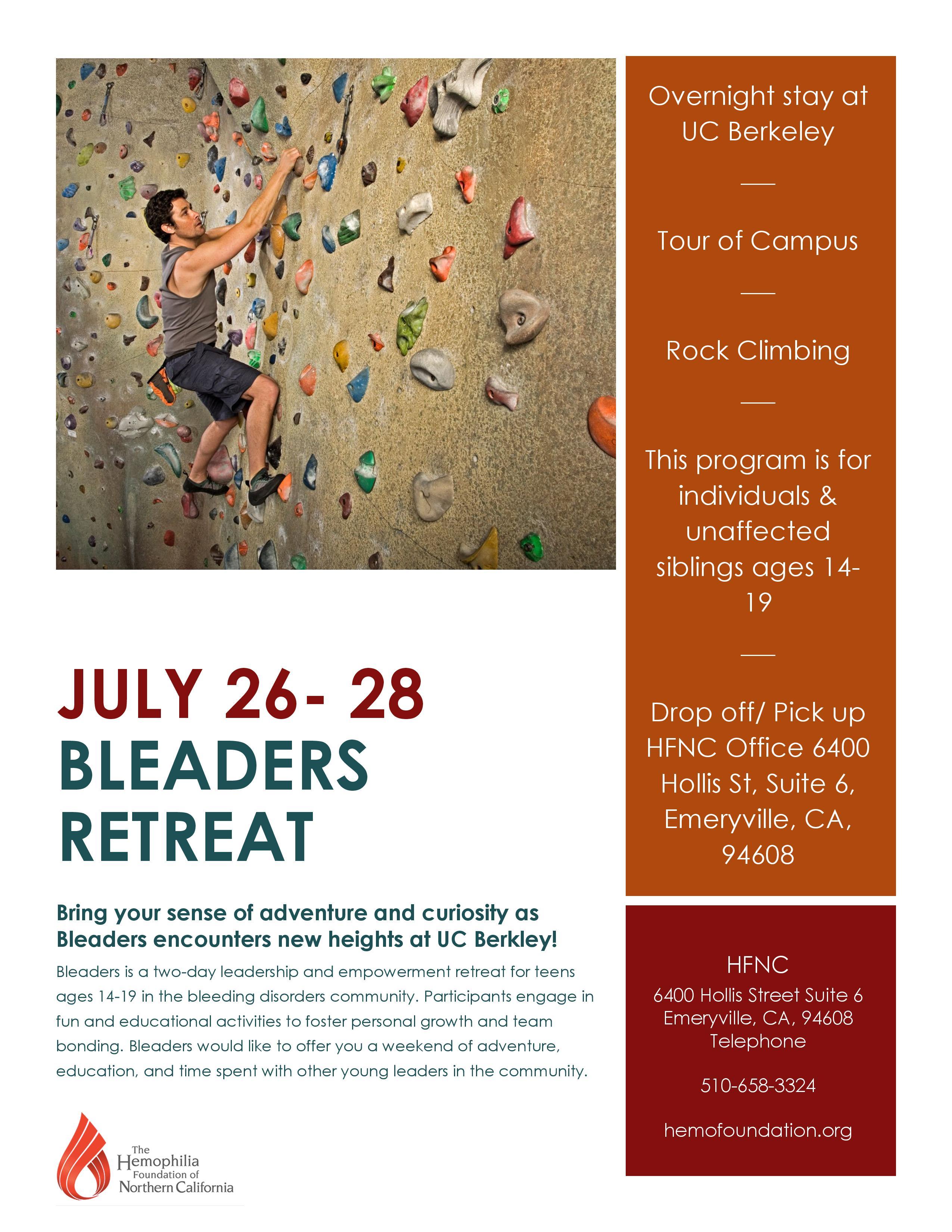 Bleaders Teen Retreat