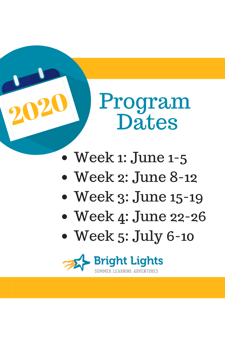 All Set: 2020 Registration Date, Program Weeks and More