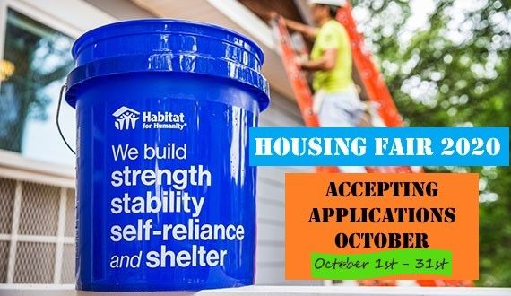 2020 Housing Fair Applications Now Available!