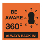 BE AWARE 360 MAGNET