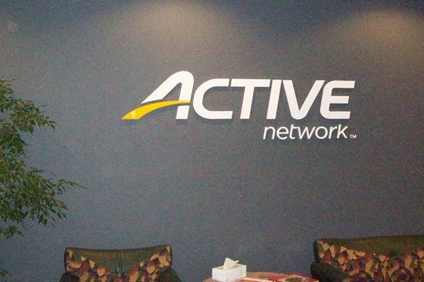 Active Network Lobby Sign
