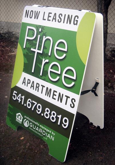 Pine Tree A-board