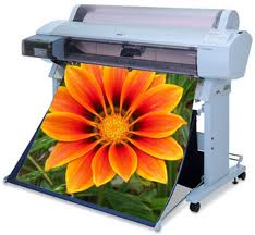 Request an estimate for large format printing.