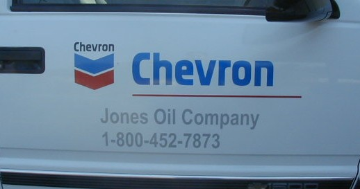 Chevron Truck