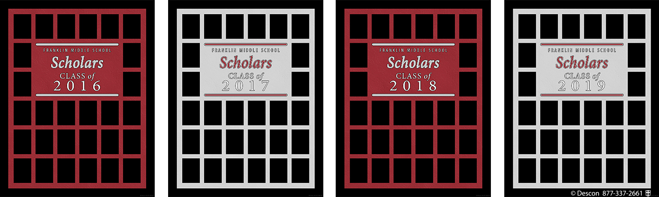 Student Scholar Frames Package