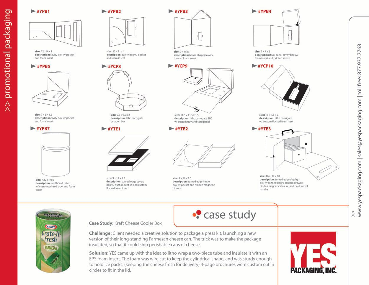 Product Launch Kit Catalog Page