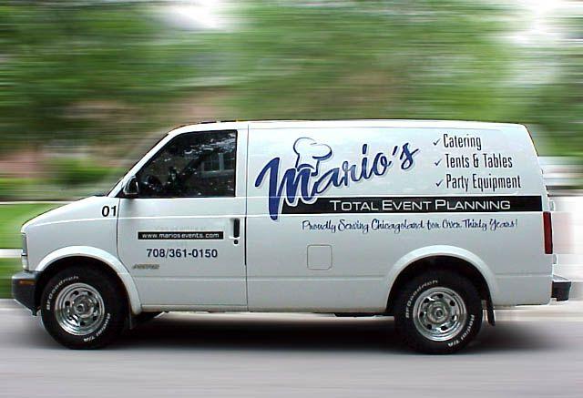 Mario's van