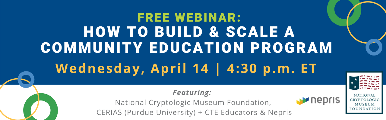 Webinar: How to Build & Scale a Community Engagement Program to Connect Industry & Education