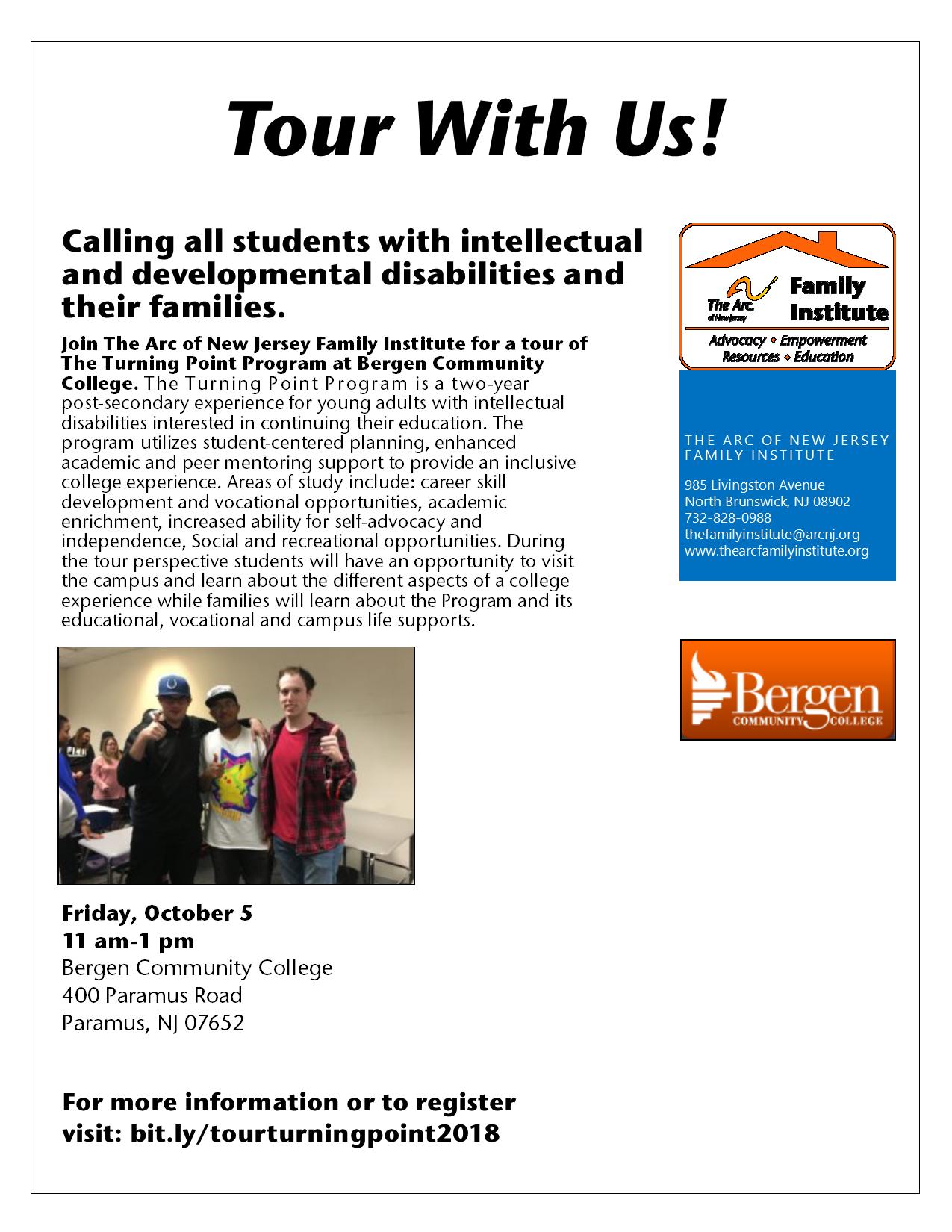 Turning Point Program at Bergen Community College Tour