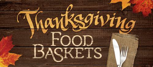Thanksgiving Basket Sign-Ups