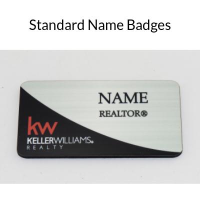 Standard Name Badges