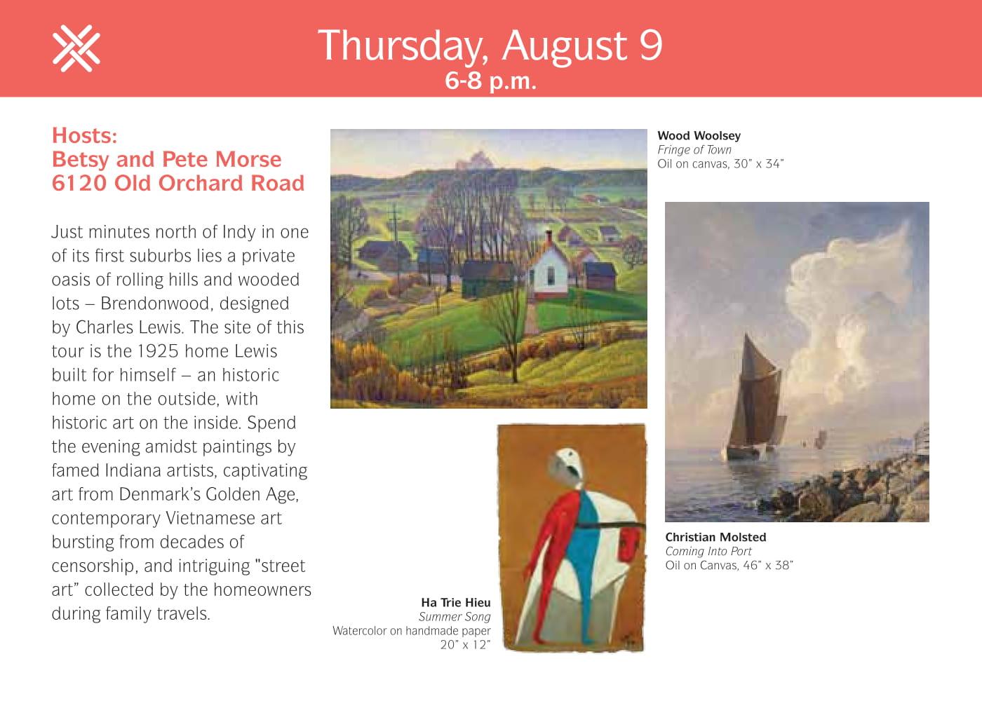 ArtMix Art & Home Tours: Morse Home