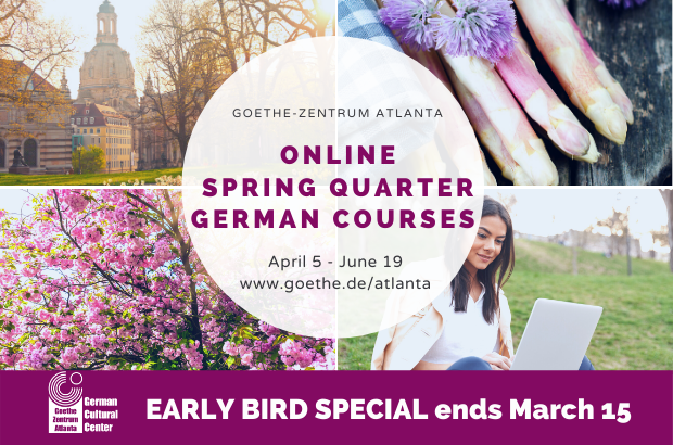 Spring into a German course