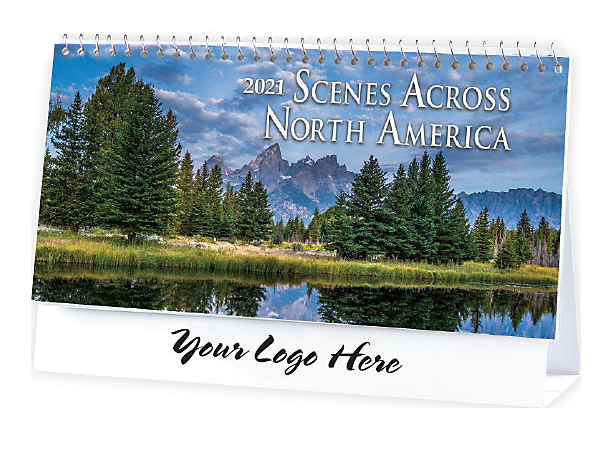 DESK CALENDAR - SCENES ACROSS NORTH AMERICA