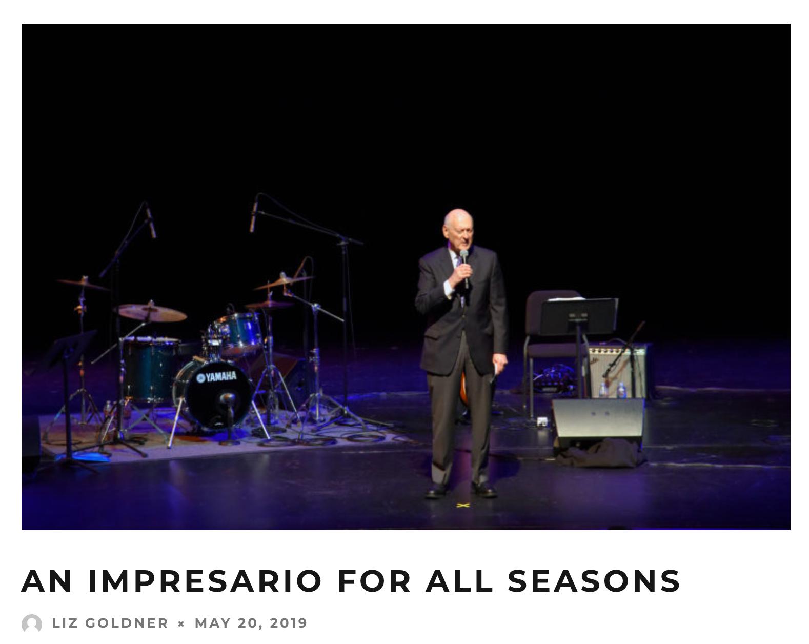 An Impressario for All Seasons