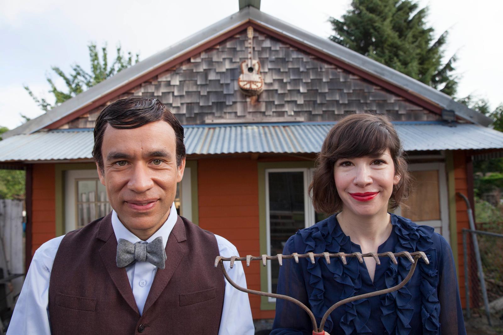 Fred Armisen and Carrie Brownstein in Portlandia. (photo: Chris Hornbecker/IFC)
