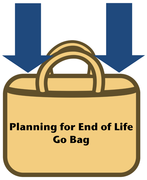 Planning for End of Life Go Bag