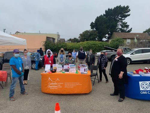CBS Features Catholic Charities Work at OMI Neighborhood COVID Testing Site