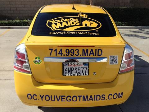 Orange County franchise vehicle wraps
