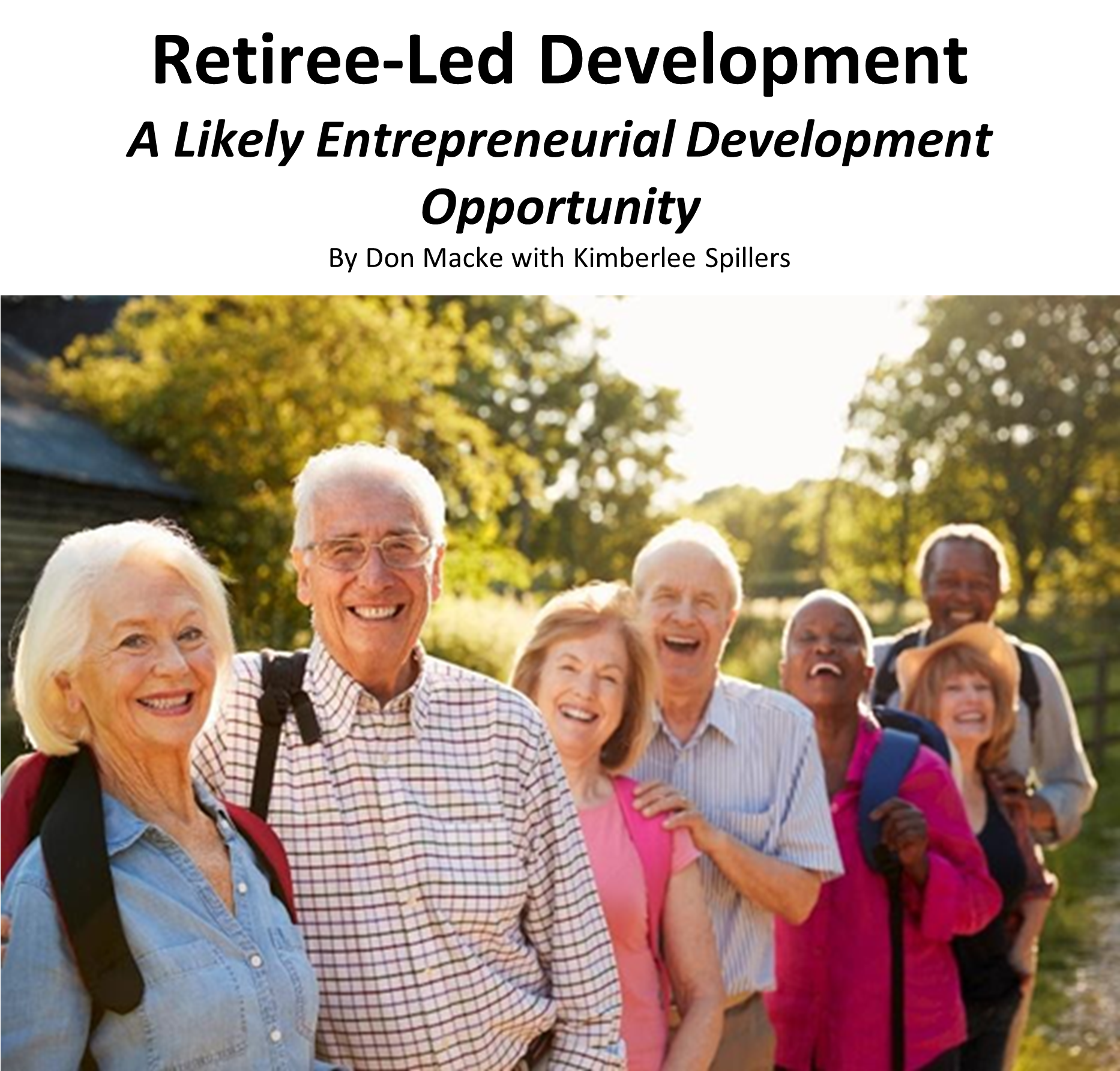 Retiree-Led Development Thought Paper