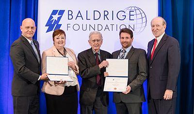 Dr. Curt Reimann Baldrige Scholarship Recipients, 2019