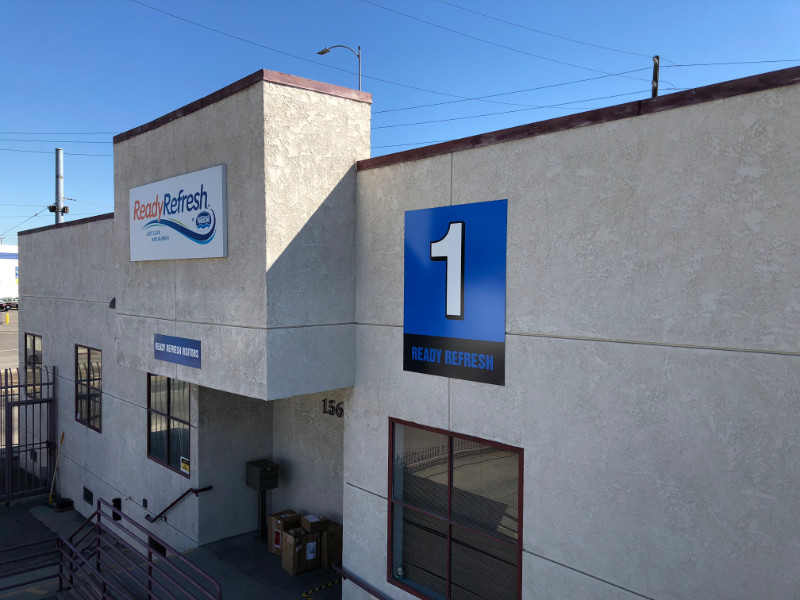 Directional Signs | Building ID Signs | Los Angeles CA