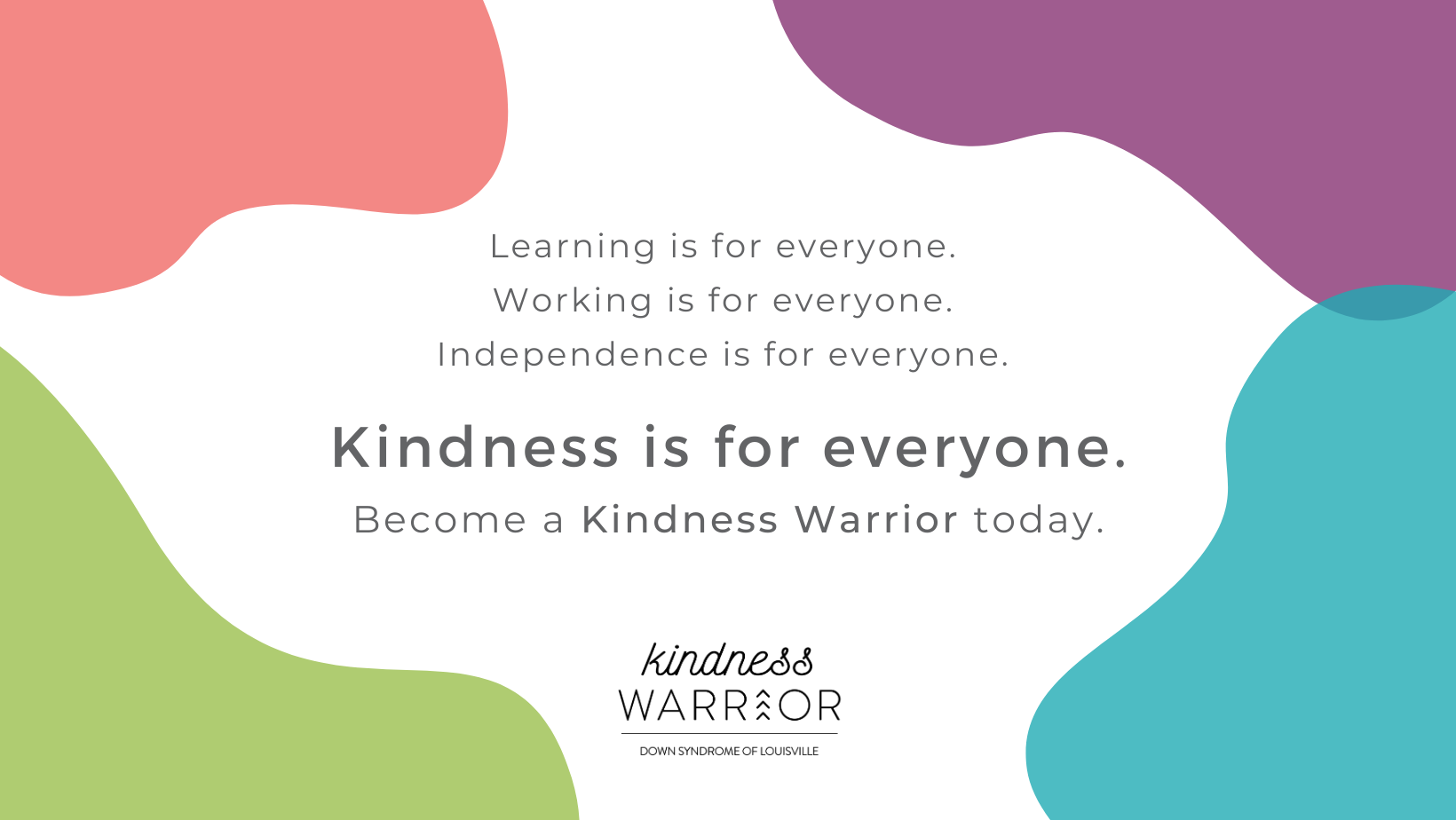 Want to be a Kindness Warrior?
