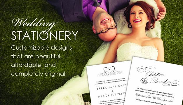 Wedding Stationery Promo