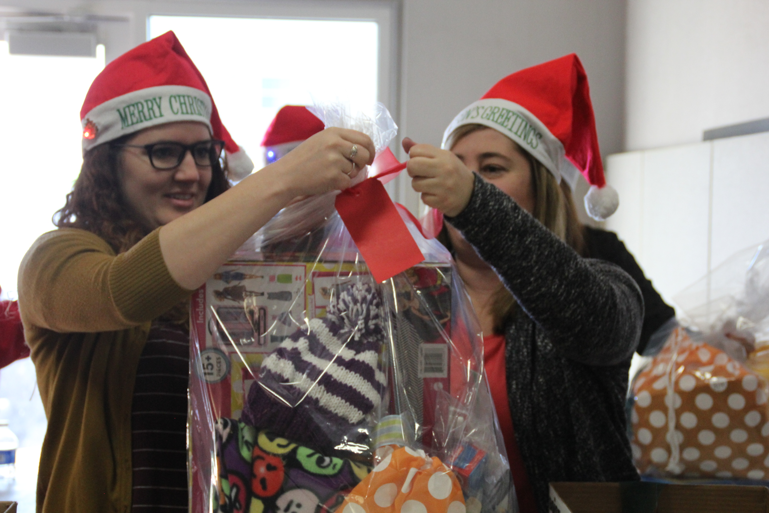 Press Release: Holiday Gifts Go to Thousands of Needy Students