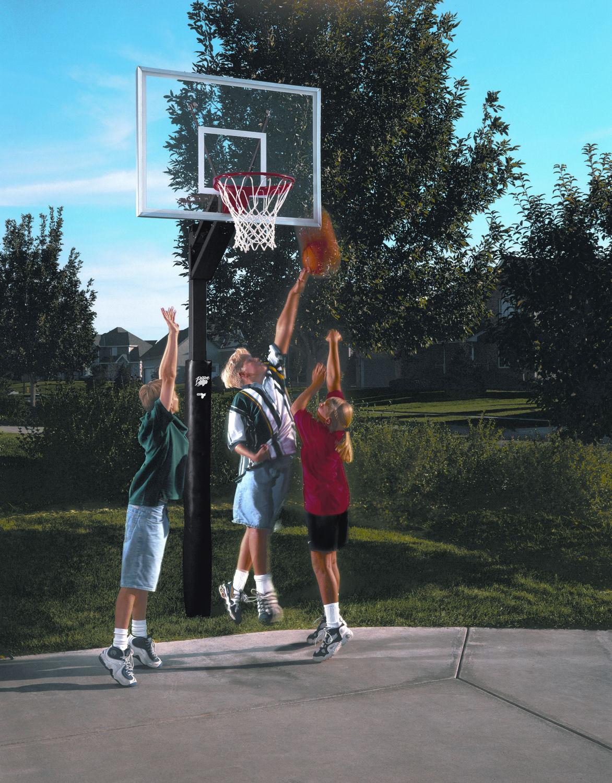 Pro-style Basketball System
