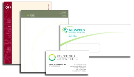 Letterhead, Envelopes & Business Cards