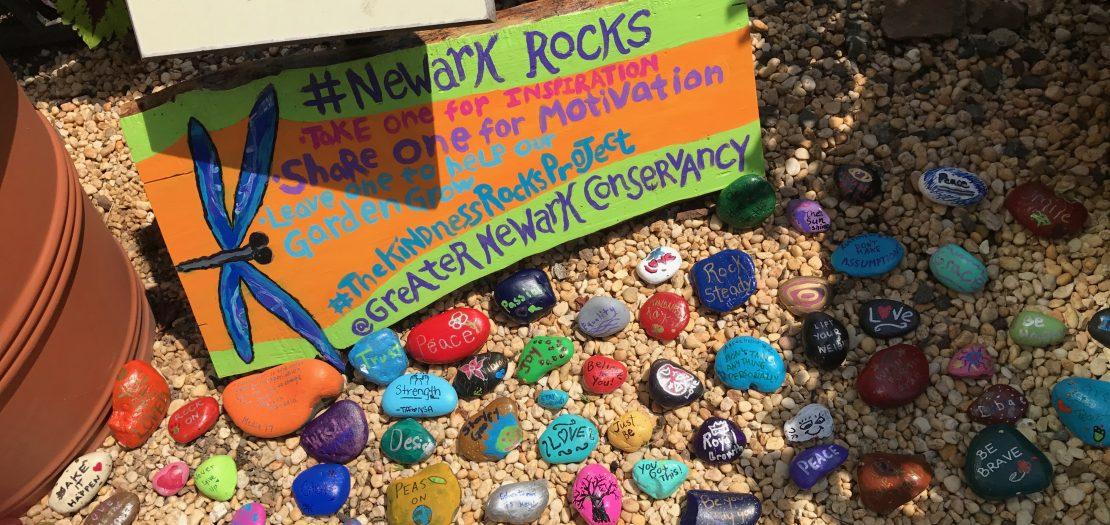 #NewarkRocks: Kindness Rocks in the City