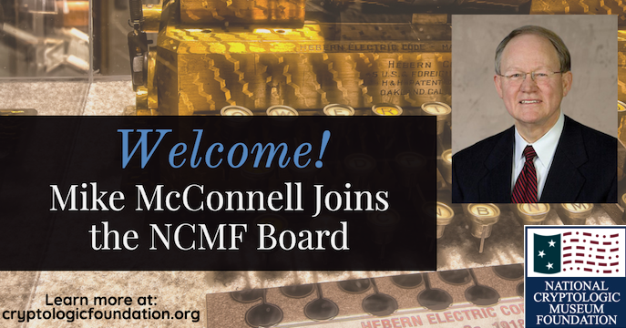 Welcoming Mike McConnell to the NCMF BoD