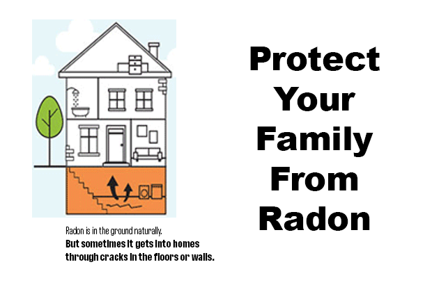 Winter is the best time to check your home for Radon.