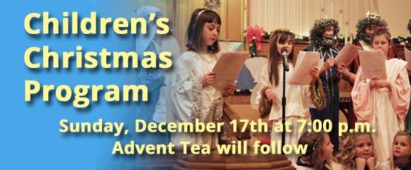 Children's Christmas Program 2017