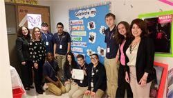 Garfield Middle School Winning Class