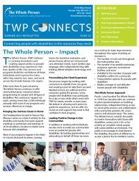 TWP Connects Summer 2021