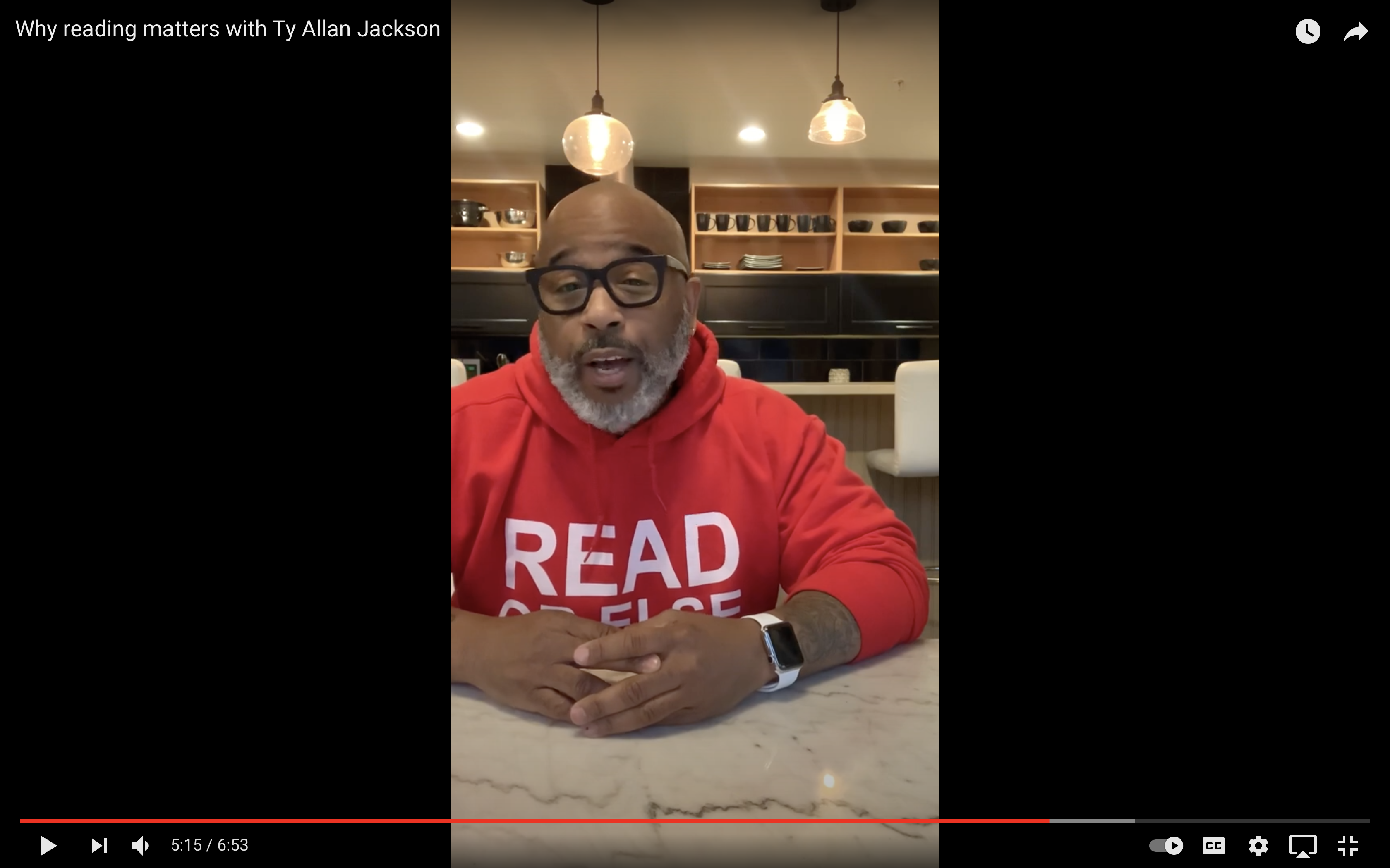 Why Reading Matters with Ty Allan Jackson.