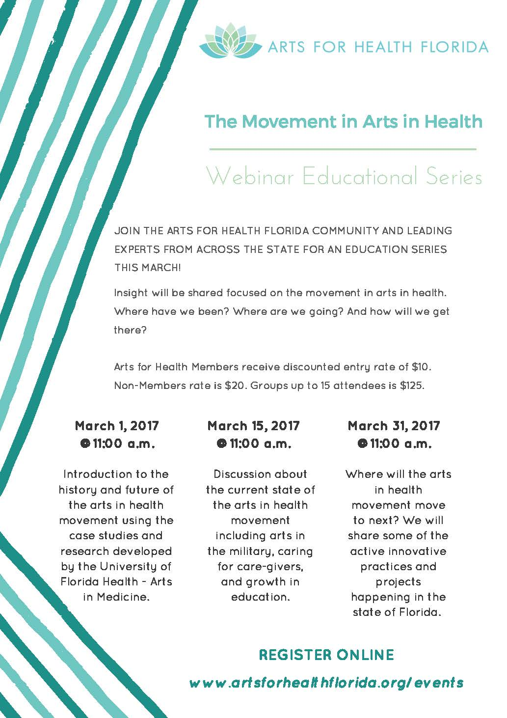 Arts for Health Florida : Webinar