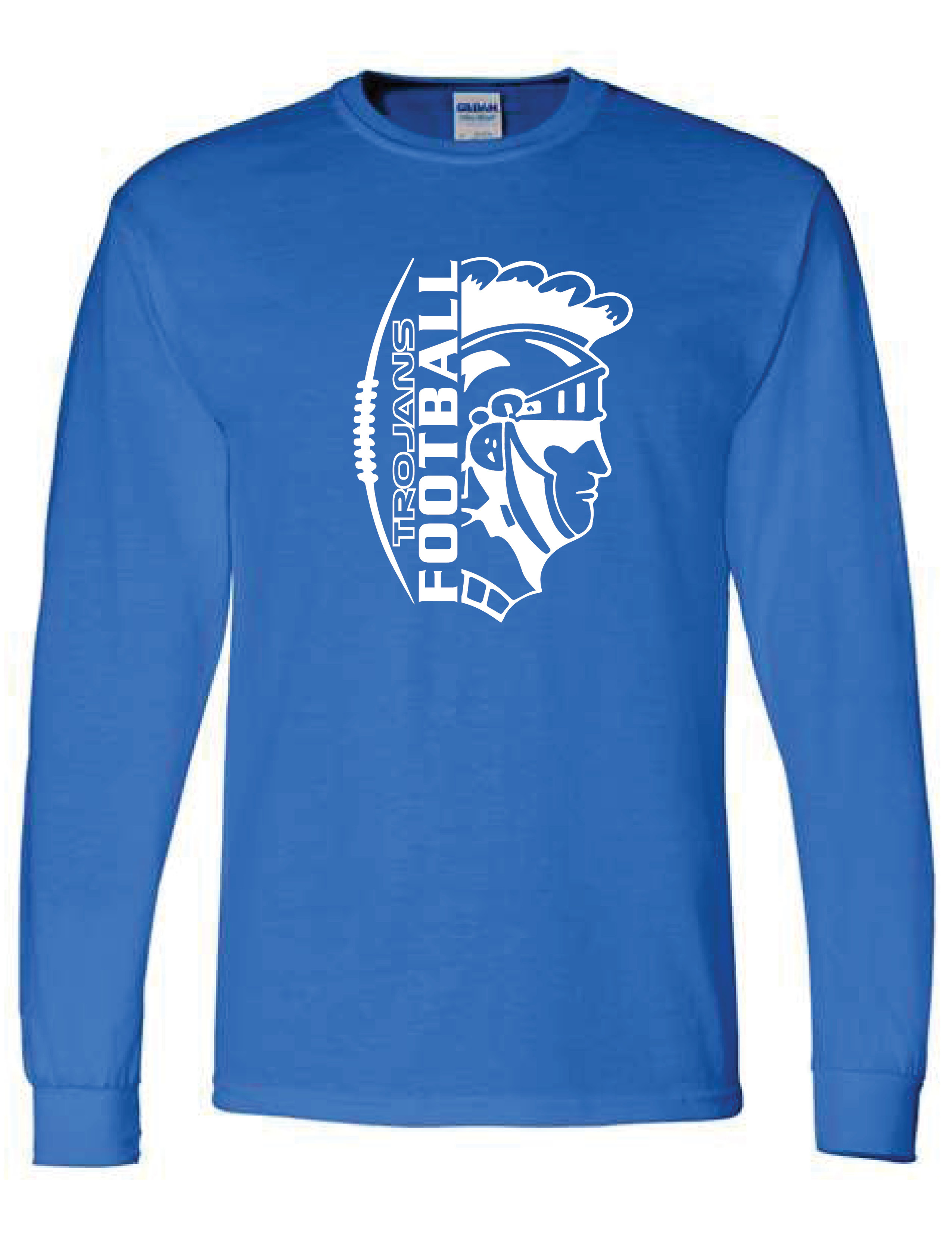 Long Sleeve T-shirt  (TROJAN)