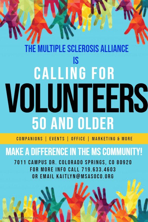 MSA 50+ Volunteer Program